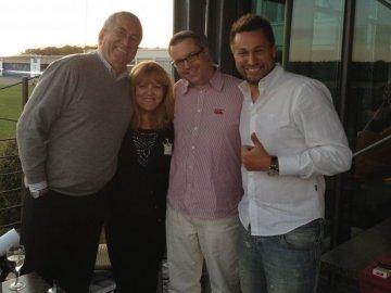 K.C. & Friends / Werner Reinke & Lidia Antonini (HR3) und Johannes Scherer (FFH)